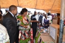 VP. Saulos Chilima at the function of commemorating the day of the African Child in Mponela.